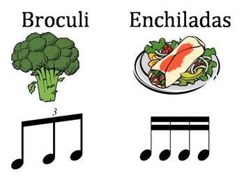 Spanish Rhythm Words