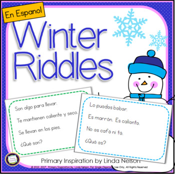 Spanish Riddles for Winter