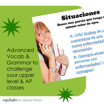"Spanish Role-Play Conversations - ""Situaciones"" AP Language / Advanced Level"