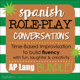 "Spanish Role-Play Conversations - ""Situaciones"" AP Languag"