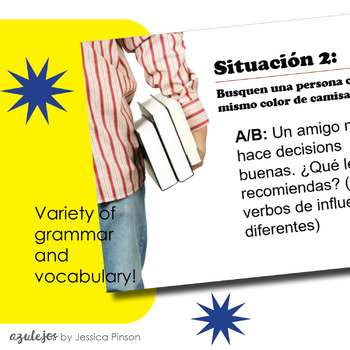 "Spanish Role-Play Conversations - ""Situaciones"" Year 3 BUNDLE!!"
