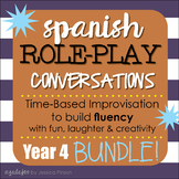 "Spanish Role-Play Conversations - ""Situaciones"" Year 4 Bundle!!!!"