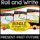 Spanish Tense Review BUNDLE   Spanish Present Past Future Verbs
