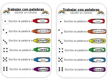 Spanish Roll and Spell