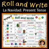 Spanish Christmas Present Tense Verb Activities
