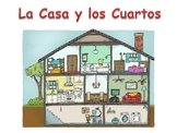 Spanish Rooms in the House Powerpoint Activities