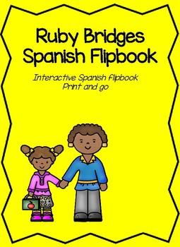 Spanish Ruby Bridges Flipbook