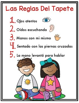 Spanish Rug Rules