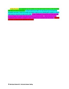 Spanish STAAR Analysis & Activities: A la cima con Jordon Romero, Grade 4