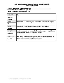 Spanish STAAR Analysis & Activities: El Castor Sabeltodo, Grade 4
