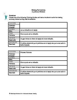 Spanish STAAR Analysis & Activities: La princesa Filomena, Grade 3