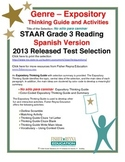 Spanish STAAR Analysis & Activities: No sólo para caminar, Grade 3