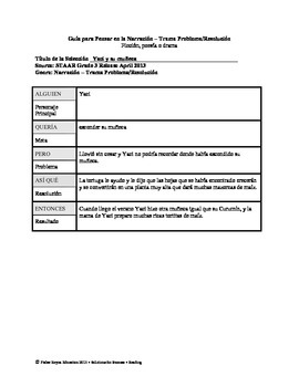 Spanish STAAR Analysis & Activities: Yaci y su muñeca, Grade 3