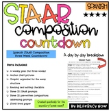 Spanish STAAR Expository Opinion Composition Three Week Countdown Plan!