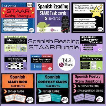 Spanish STAAR Reading Bundle / STAAR de Lectura