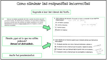 Spanish STAAR Reading Test-Taking Strategies PPT! How to Mark Up the Passages!