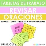 Spanish STAAR Writing REVISING (rewriting) Sentence 30 Tas