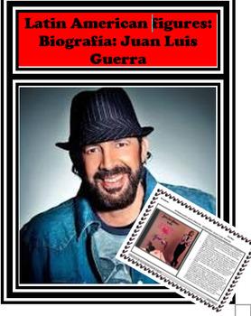 Spanish STAAR Reading passage : Biografia: Juan Luis Guerra