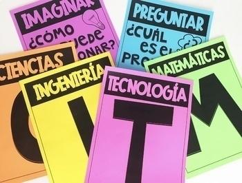 "Spanish ""STEM"" Posters! CTIM Posters!"