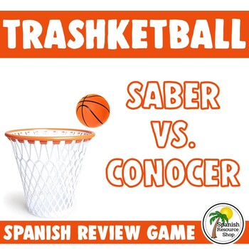 Spanish Saber vs. Conocer Trashketball Game