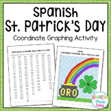 Spanish Saint Patrick's Day Coordinate Graphing Activity