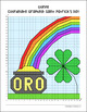Spanish Saint Patrick's Day Coordinate Graphing Activity