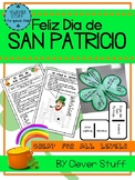 Spanish St. Patrick's day activities. San Patricio