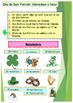 Spanish Saint Patrick's day, dia de San Patricio bundle (p