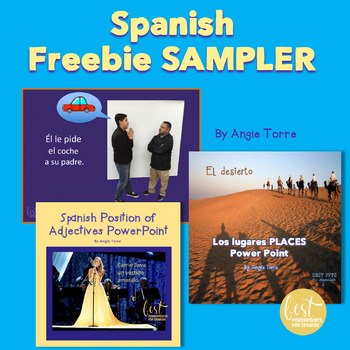 Spanish Sampler - All My Free Products in One Place