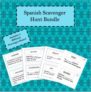 Spanish Scavenger Hunt Bundle