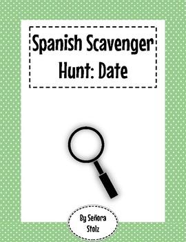 Spanish Scavenger Hunt: Date