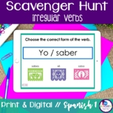 Spanish Scavenger Hunt - Irregular Verbs