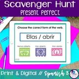 Spanish Scavenger Hunt - Present Perfect Tense