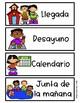 Spanish Schedule Cards