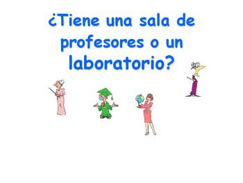 Spanish Teaching Resources. School Vocabulary PowerPoint