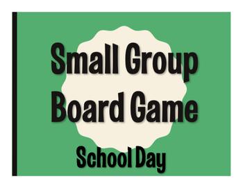 Spanish School Day Board Game