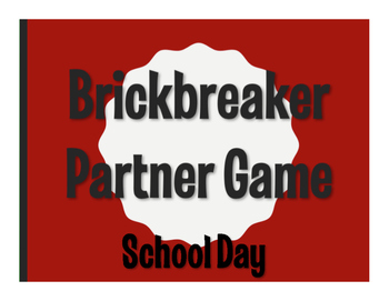 Spanish School Day Brickbreaker Game