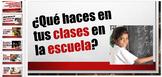 Spanish School Lesson