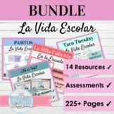 Spanish School Life Activity Bundle | La Vida Escolar
