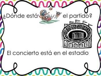 Spanish School Places Powerpoint - with the verb estar