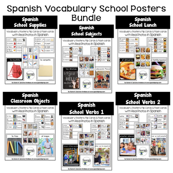 Spanish School Posters Bundle