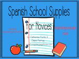 Spanish School Supplies Bundle