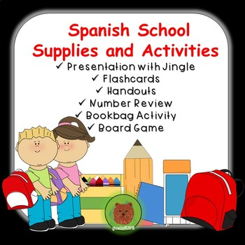 Spanish School Supplies and Use