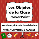 Spanish School Vocabulary PowerPoint with Games/Activities