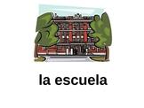Spanish School Vocabulary