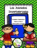 In Spanish | Science Interactive Notebook | Invertebrates {Invertebrados}