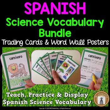 Spanish Science Vocabulary