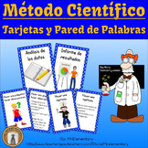 Spanish Scientific Method Vocabulary