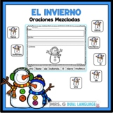 Scrambled Sentences in Spanish: Winter