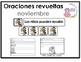 Spanish Scrambled Sentences for November